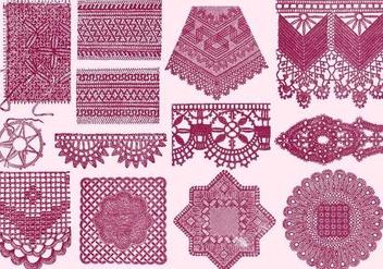 Vintage Laces - Kostenloses vector #390779