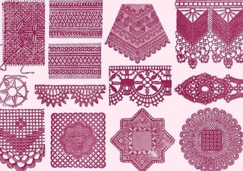 Vintage Laces - Free vector #390779