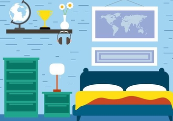 Free Room Vector Illustration - Free vector #390999