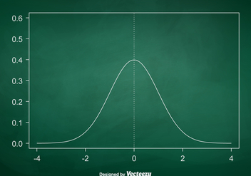 Free Vector Bell Curve Chart - Kostenloses vector #391299