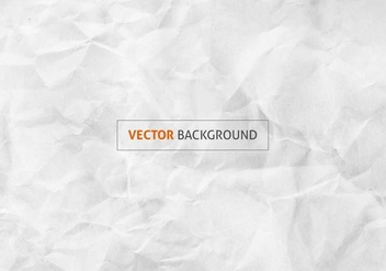 Free Vector Texture Of Crumpled Paper - Free vector #391989