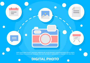Free Digital Photo Vector Illustration - Free vector #392059
