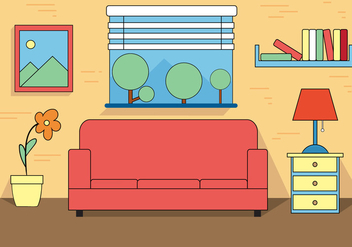 Free Room Vector - Free vector #392099