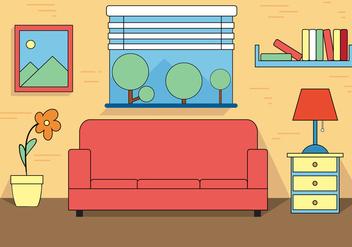 Free Room Vector - Kostenloses vector #392099