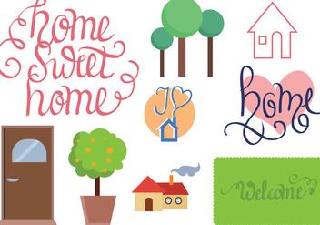 Free Home Vectors - бесплатный vector #392629