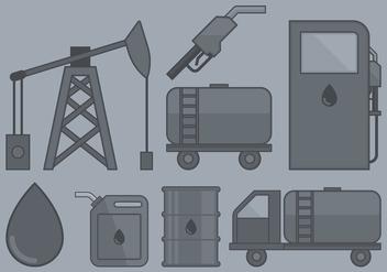Oil Industry Icon - vector #393069 gratis
