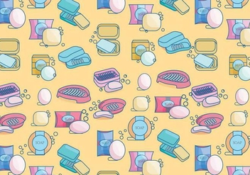 Soap Box Pattern Vector - бесплатный vector #393679