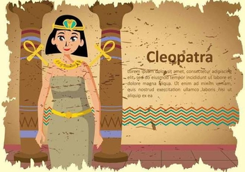 Free Cleopatra Illustration - Free vector #394319