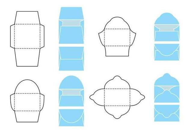 Vector Die Cut Envelope - Free vector #394399