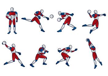 Handball Dummy Vector - vector #394649 gratis