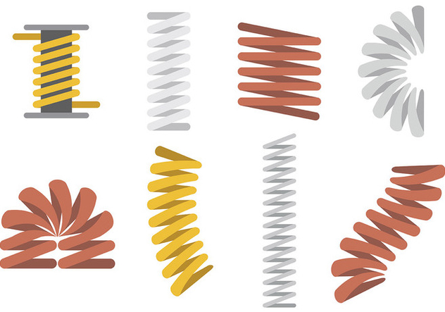 Free Slinky Icons Vector - Free vector #394709
