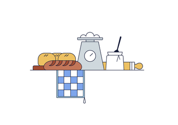Free Bakery Vector - Free vector #394899