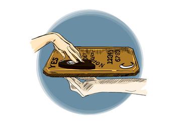 Free Ouija Board - Free vector #394939