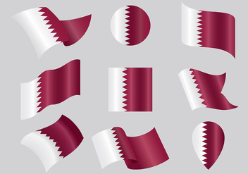 Free Qatar Icons Vector - Free vector #395009
