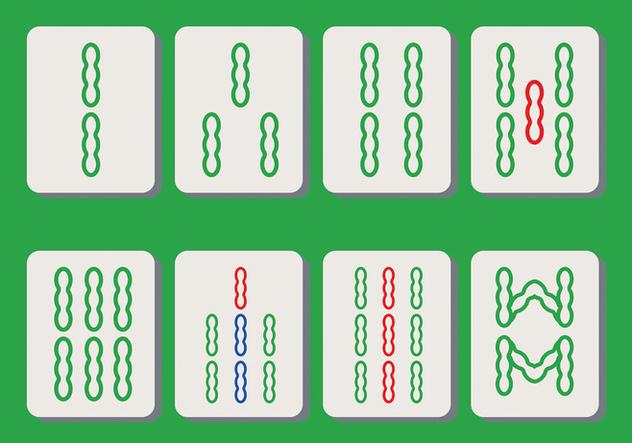 Mahjong Vector - Free vector #395039