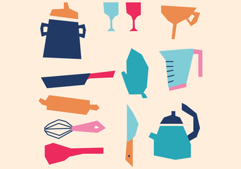 Dishes for Cleaning - vector #395559 gratis