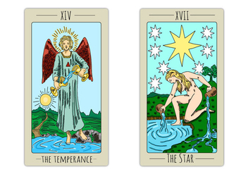 Free Tarot Playing Cards - Kostenloses vector #395649