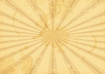 Sunburst Grunge Vector Background - Free vector #396109