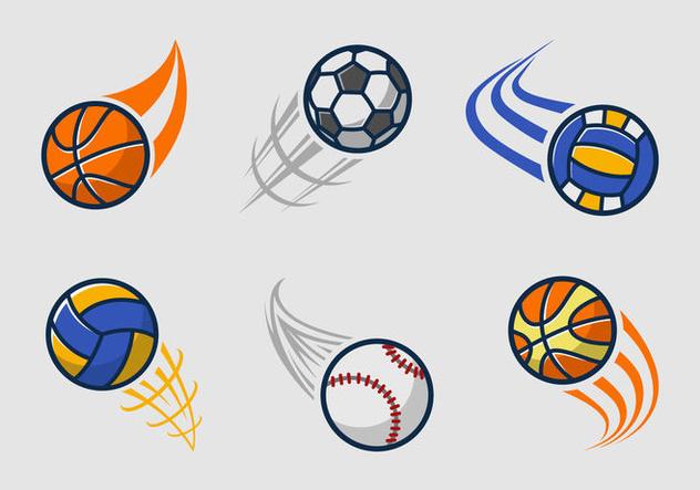 Kickball team logo pack - vector gratuit(e) #396429