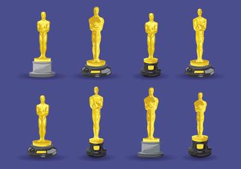 Free Oscar Statue Vector - бесплатный vector #397479