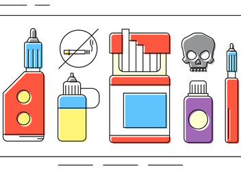 Free Drug Vector Icons - vector gratuit #397689