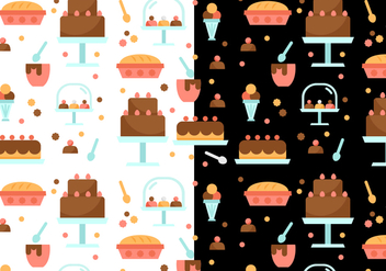 Free Bakery Pattern Vector - Free vector #397909