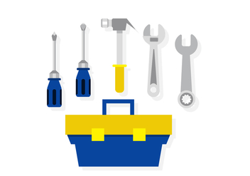 Vector Tool Box - Kostenloses vector #398269