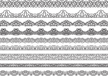 Free Lace Vectors - Free vector #398299