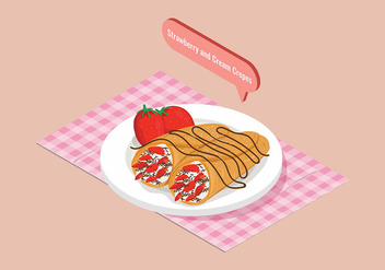 Crepes Vector - Free vector #398419