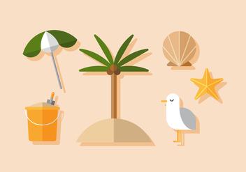 Vector Beach - бесплатный vector #398459