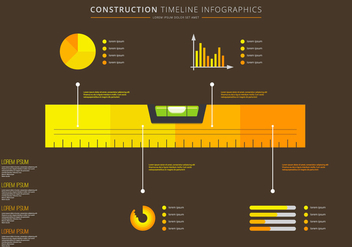 Level Timeline Infographic Vector - бесплатный vector #398679