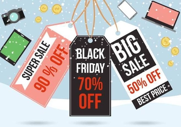 Free Black Friday Vector - Kostenloses vector #398699