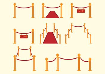 Free Velvet Rope Vector - Free vector #399749