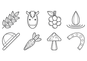 Free Agricultural Icon Vector - vector #399839 gratis
