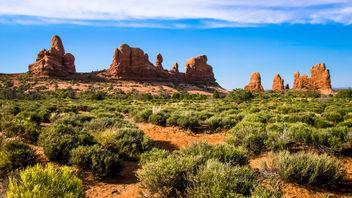 Sandstone Skyline - image #400119 gratis