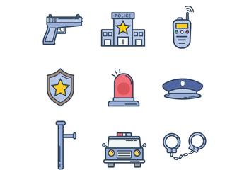 Free Police Vectors - vector #400139 gratis