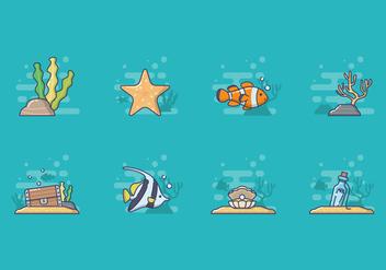 Free Sea Life Vector - Free vector #400259