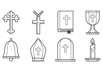 Free Christian Icon Vector - Free vector #400519