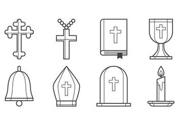 Free Christian Icon Vector - vector gratuit #400519