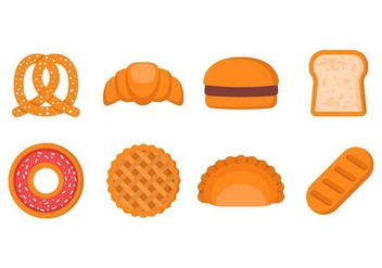 Free Bakery and Pastry Vector - vector #400639 gratis