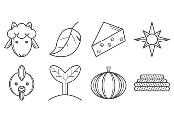 Free Agricultural Icon Vector - Free vector #400859