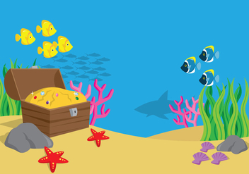 Sea Landscape - vector #401059 gratis