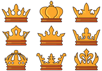 Luxury Crown Of Pageant - Free vector #401189