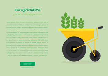 Agro Webpage Template - Free vector #401589