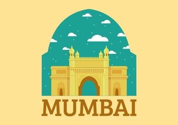 Mumbai Landmark Free Vector - Kostenloses vector #403089