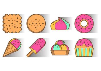 Free Dessert Icon Vector - Kostenloses vector #403349