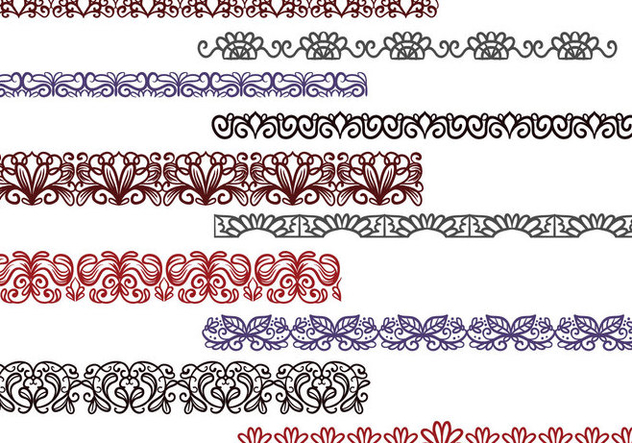 Free Lace Vectors - Free vector #403809