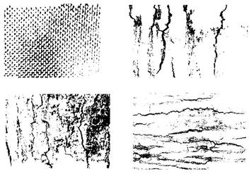 Set Of Texture Vector - Free vector #404089