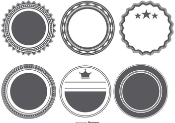 Vector Badge Shapes Collection - Kostenloses vector #404199