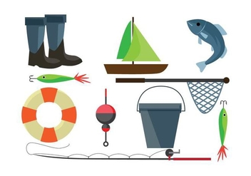 Free Fish Net - vector gratuit #404269